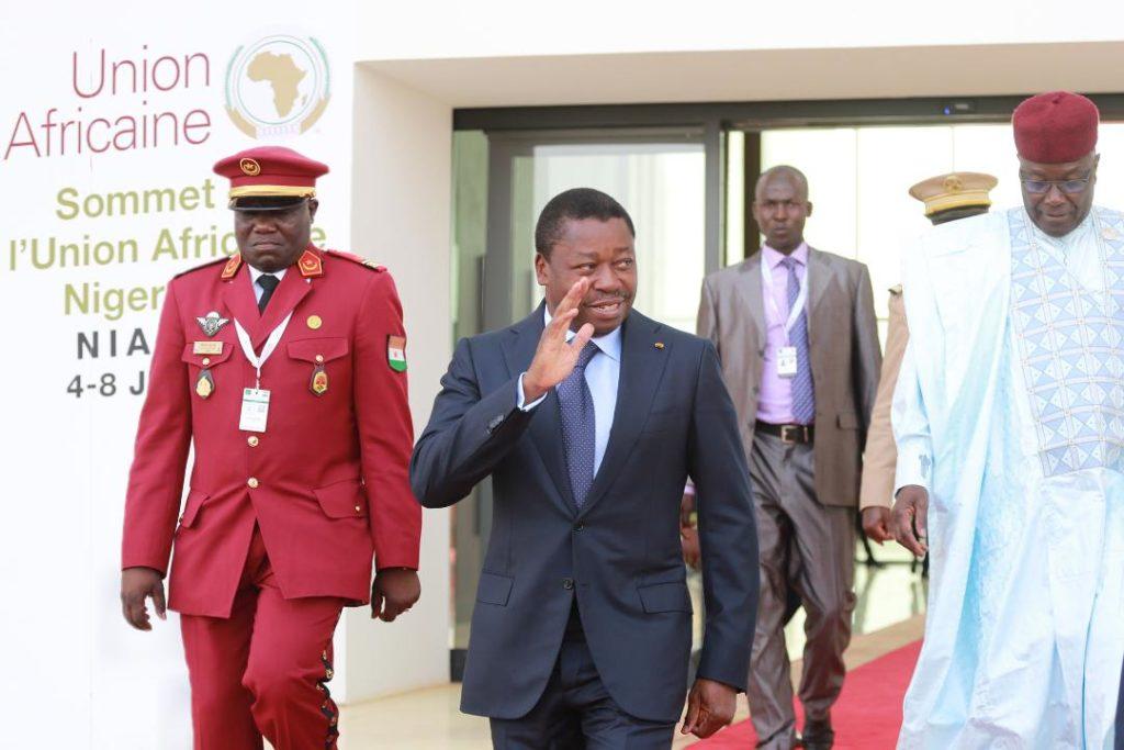 chef etat togolais sommet ua niamey 2019