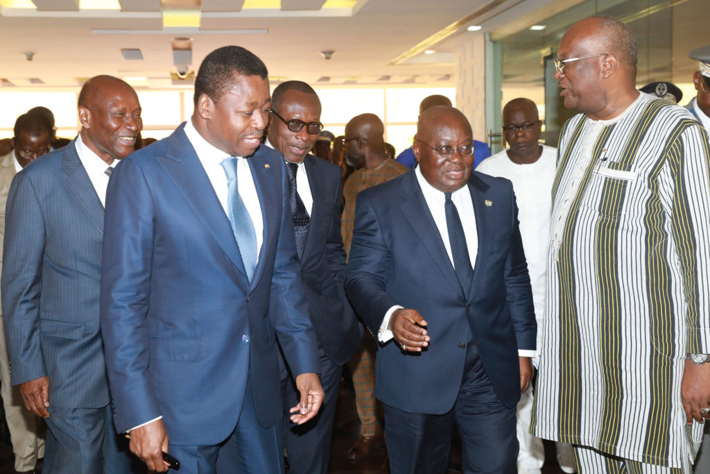 president faure gnassingbe et nana akufo addo