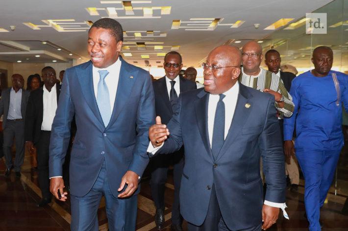 president togo et president ghana au sommet d accra