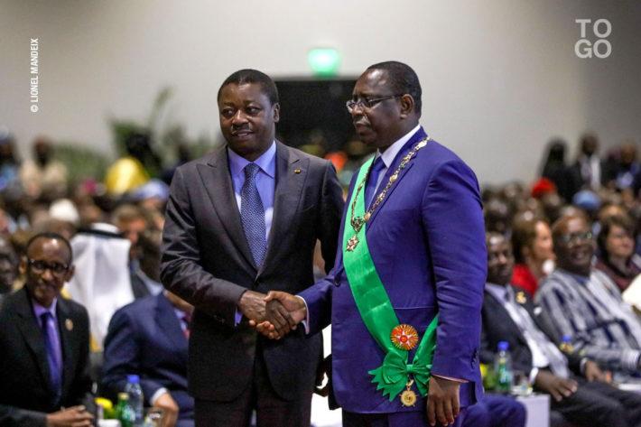 Faure Gnassingbe a l investiture de Macky Sall