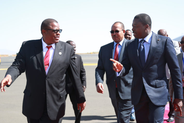 Faure Gnassingbe et la cooperation entre le Togo et Afrique du Sud