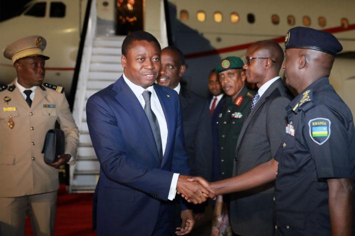 Le chef de Etat Faure Gnassingbe a Kigali pour Africa CEO Forum