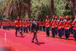 SEM Faure Essozimna Gnassingbe accueilli au senegal