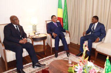 discussion togo rdc congo entre SEM faure gnassingbe sassou nguesso et felix tshisekedi