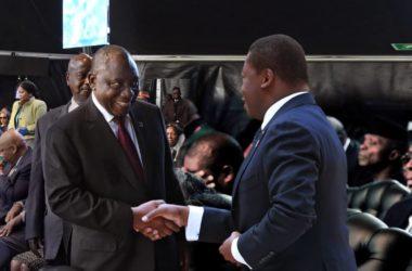 faure gnassingbe felicite cyril ramaphosa a pretoria