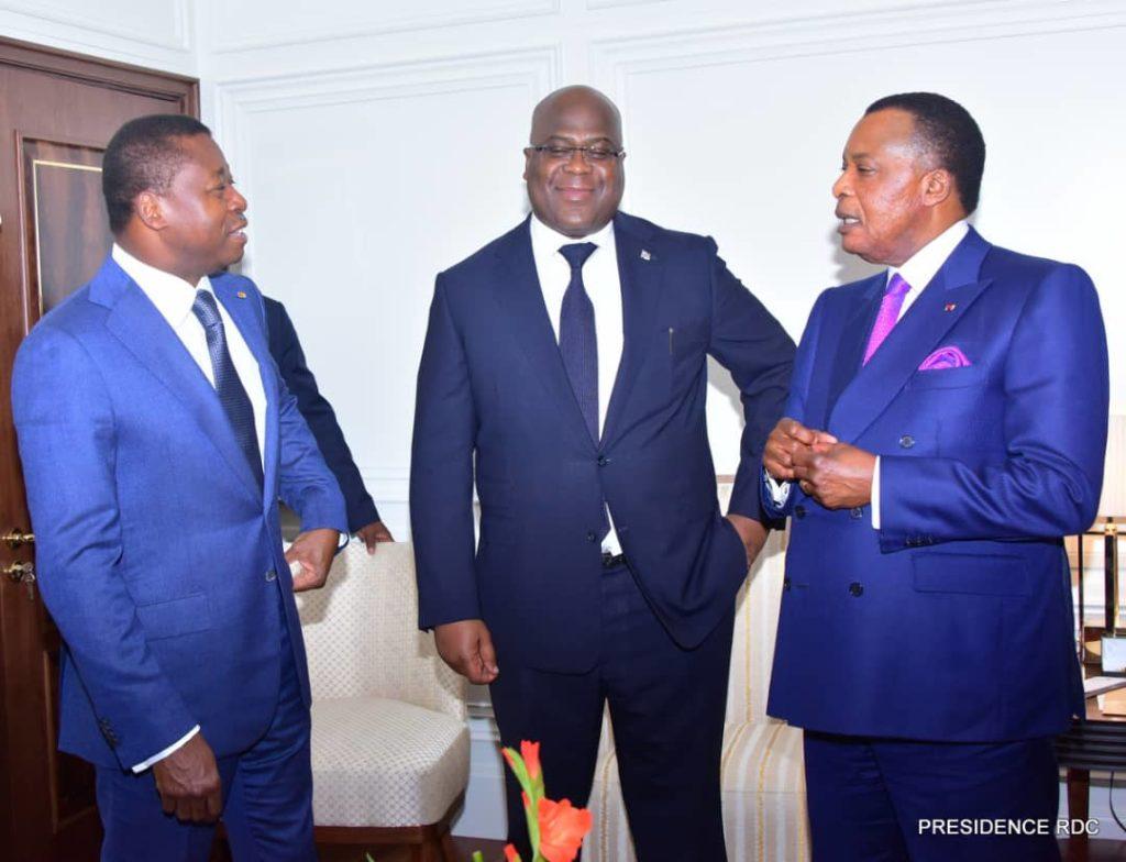 recontre tripartite presidence rdc togo