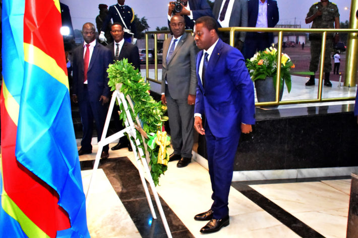 chef etat togolais hommage etienne tshisekedi rdc kinshasa