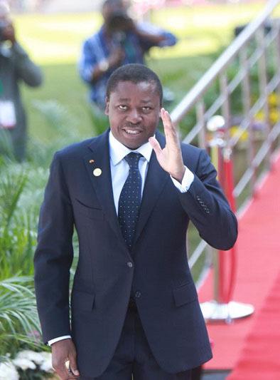 Faure Gnassingbé 22 février 2020-Togo