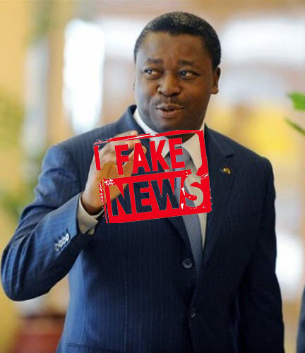 Faure-Gnassingbe-fake news