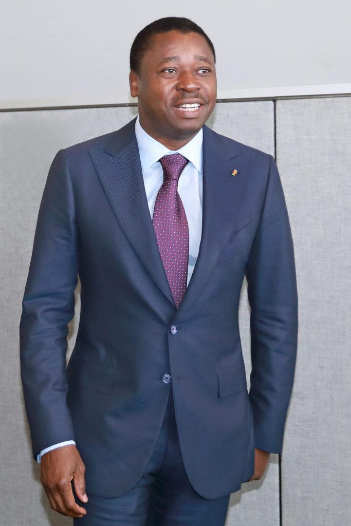 photo rare du president faure e. gnassingbe