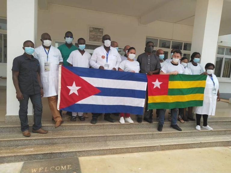 brigade médicale cubaine au Togo