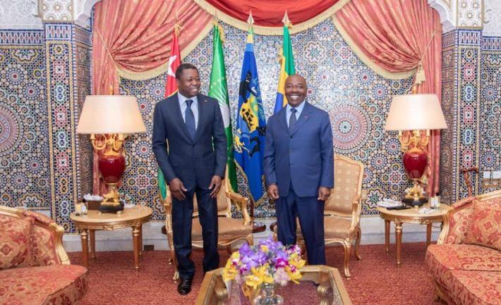 Diplomatie-Visite-de-travail-Faure-Gnassingbe-a-Libreville